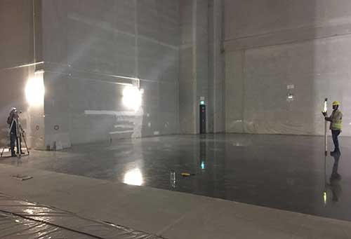 Finished Warehouse Floor JTC